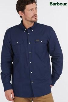 Barbour® Blue Waddington Coolmax Shirt