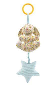 Cath Kidston® White Mews Ditsy Mini Baby Musical Toy