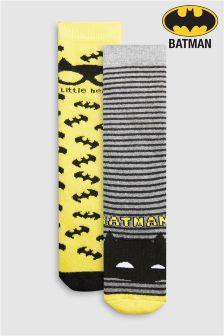 Batman® Welly Socks Two Pack (Younger)