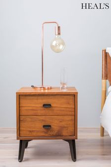 HEAL'S Copper Junction Table Lamp