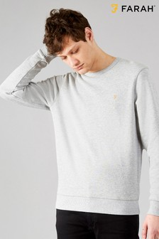 Farah Grey Tim Basic Crew