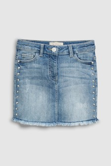 Denim Stud Skirt (3-16yrs)