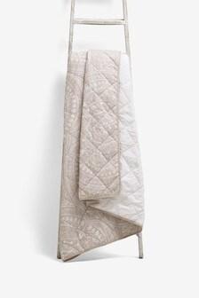 Mandala Print Bedspread