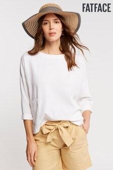 FatFace Ophelia Linen Blend Popover Shirt