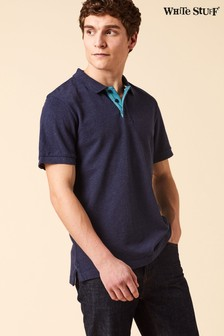 White Stuff Blue Shoreside Polo