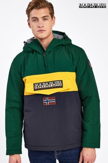 Napapijri Green Colourblock Rainforest Jacket