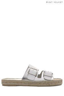 Mint Velvet AVA Leather Buckle Sandal PINOX