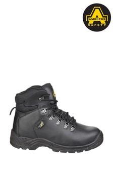 Amblers Safety Black AS335 Poron XRD Internal Metatarsal Safety Boots