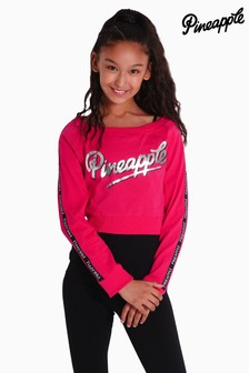 Pineapple Long Sleeve Double Layer Top