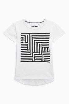 Mono Lines Dinosaur T-Shirt (3mths-6yrs)