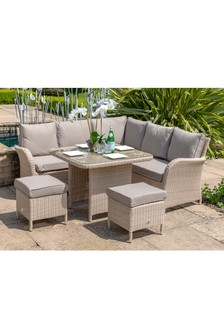 Monaco Compact Corner Sofa Set By Leisuregrow