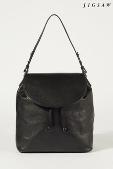 Jigsaw Brook 2-In-1 Leather Bag