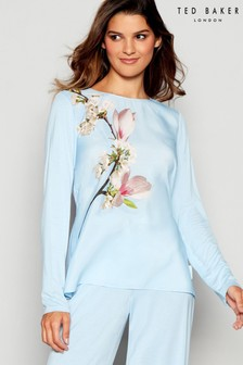 Ted Baker Blue Harmony Placement Pyjama Top