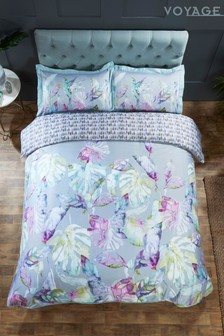 Voyage Salvador Floral Cotton Duvet Cover