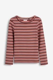 Long Sleeve Rib T-Shirt (3-16yrs)