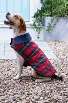 Reversible Tartan Dog Coat
