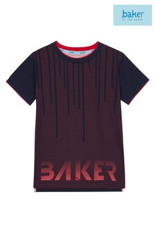 baker by Ted Baker Purple Graded Cube Tee