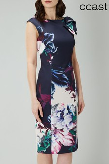 Coast Blue Felicity Scuba Shift Dress