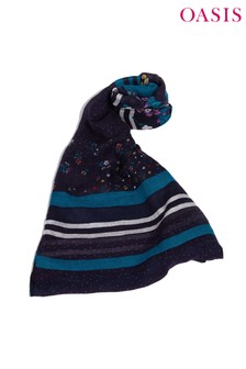 Oasis Green Pop Ditsy Scarf