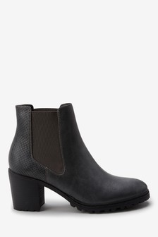 Cleat Sole Chelsea Boots