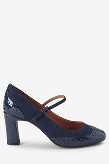 Brogue Mary Janes