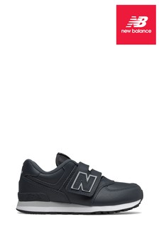 New Balance Leather 574 Youth Trainers