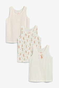 Mouse Vests Three Pack (1.5-12yrs)
