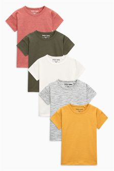 Arizona T-Shirts, 5er-Pack (3 Monate bis 6 Jahre)