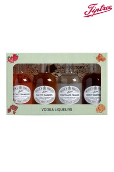 Set of 4 Miniature Vodka Liqueurs by Tiptree