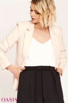 Oasis Pink Tailored Event Blazer