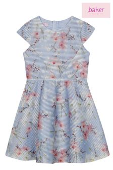 baker by Ted Baker Blue Floral Dress