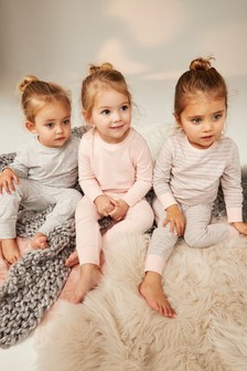 Star Snuggle Pyjamas Three Pack (9mths-8yrs)