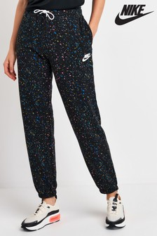 Nike Black Speckle Print Joggers
