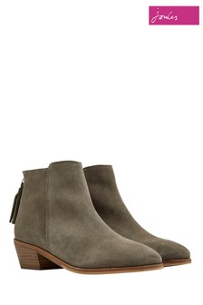 Joules Grey Langham Ankle Boot