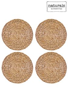 Set of 4 Creative Tops Natural Placemats