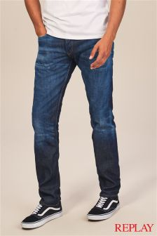 Replay® Dark Wash Ronas Slim Fit Jean