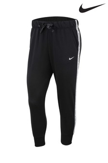Nike Black Get Fit Taped Logo Joggers