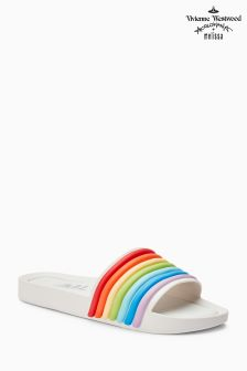 Melissa White Rainbow Beach Slide