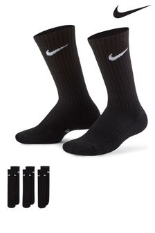 Nike Kids Cushioned Crew Socks Three Pack