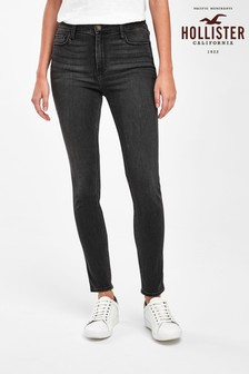 Hollister Black Highrise Super Skinny Jeans