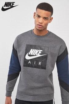 Nike Air Rundhalsoberteil, grau