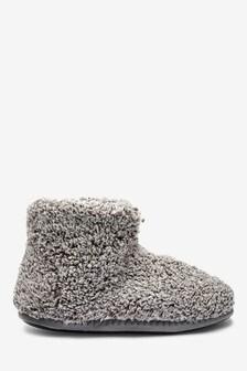 Fluffy Slipper Boots