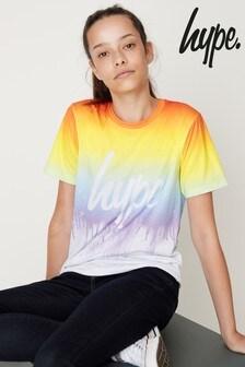 Hype. Rainbow Drips Tee