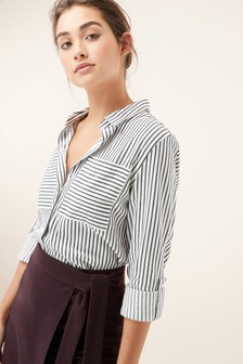 Stripe Textured Shirt