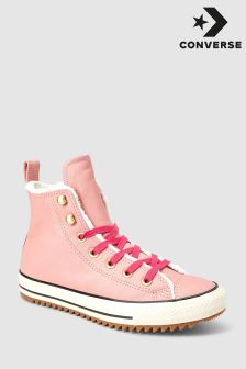 Converse Pink Boot Hi Top