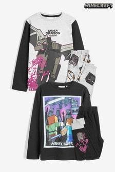 Minecraft-Pyjamas, 2er-Pack (3-12yrs)