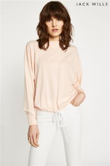 Jack Wills Langhouse Drawstring Hem T-Shirt