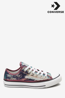Converse Chuck Taylor Mini Sequin Ox Trainers