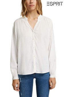 Esprit Long Sleeve Flair Shirt