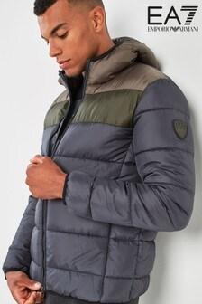 Emporio Armani EA7 Grey Tritonal Jacket